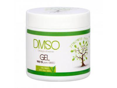 DMSO + Aloe Vera żel 140g