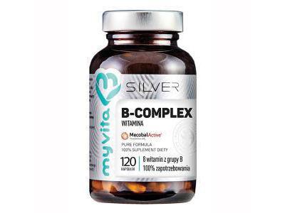 Witamina B Complex Silver 120 kaps. MyVita