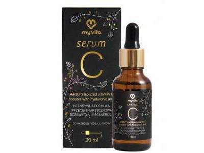 MyVita Serum witamina C z kwasem hialuronowym 30ml