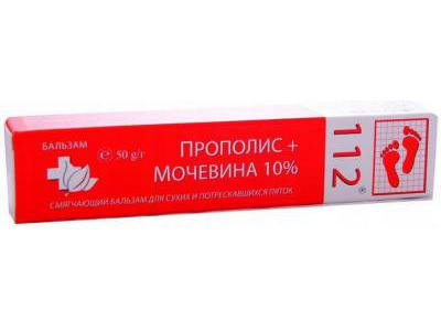 112 Mocznik 10% + balsam propolisowy 50g