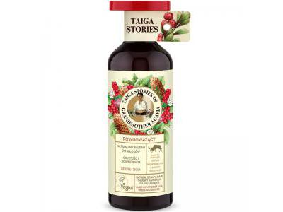 Agafia Tajga balsam włosy objętość i równowaga 500ml