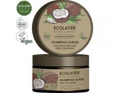 Ecolatier COCONUT Szampon peeling do skóry głowy 250ml