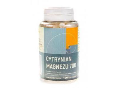 Cytrynian magnezu 100 kapsułek NANGA