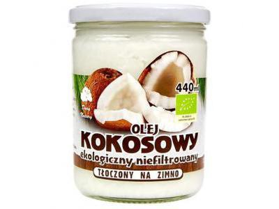 Dary Natury Olej kokosowy Eko 440 ml