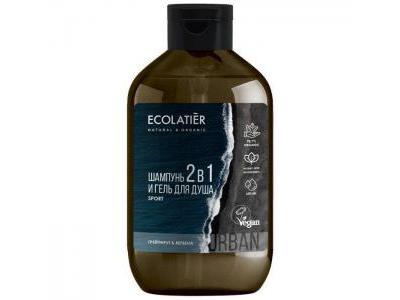 Ecolatier Szampon żel MEN pod prysznic 600ml