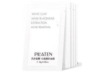 Pilaten White Clay maska oczyszczająca pory 10g