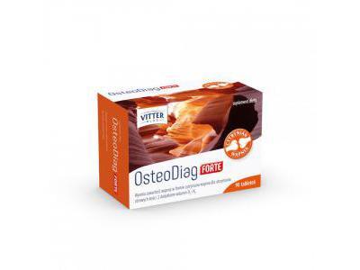 Osteodiag FORTE 90tabl. MOCNE KOŚCI