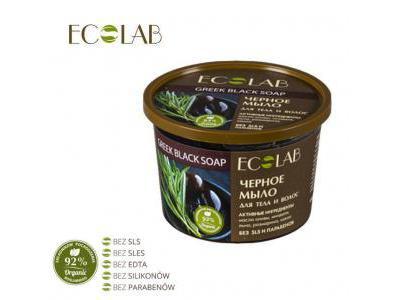 EcoLab Mydło do ciała i włosów czarne 450 ml