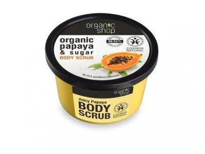 Organic Shop Peeling do ciała soczysta papaja 250ml
