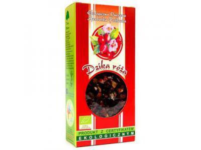 Herbata Dzika róża 100g BIO DARY NATURY