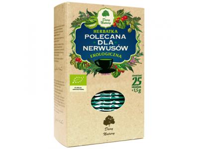 Herbata Nerwusy fix BIO 25x1,5g DARY NATURY