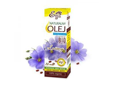 ETJA Olej Lniany BIO 50 ml