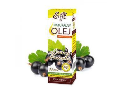 ETJA Olej z Czarnej Porzeczki 50 ml