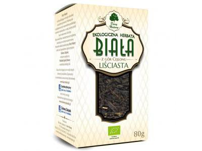 Herbata Biała liściasta Eko 80g Dary Natury