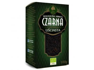 Herbata Czarna liściasta Eko 100g Dary Natury