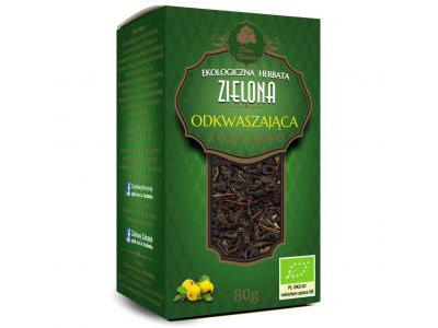 Herbata Zielona Odkwaszająca 80g Dary Natury