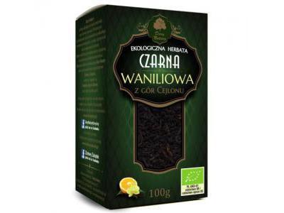 Herbata Czarna Waniliowa EKO 100g Dary Natury