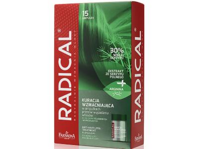 Radical kuracja przeciw wypadaniu włosów 15 ampułek po 5ml