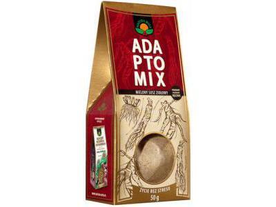Adaptomix mielony susz ziołowy 50g Natura Wita