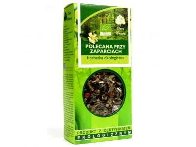 Herbatka Polecana Przy Zaparciach EKO 50g Dary Natury