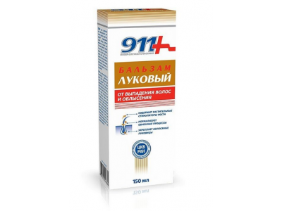 Balsam cebulowy przeciw wypadaniu włosów 150ml