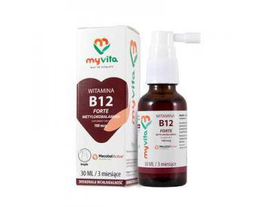 Witamina B12 krople 100mcg 30ml MyVita