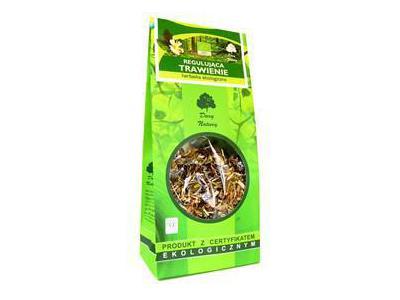 Herbatka Regulująca trawienie EKO 150g Dary Natury
