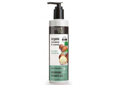 Organic Shop Żel pod prysznic MACADAMIA 280ml