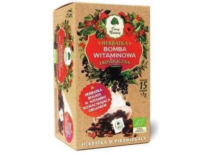 Herbatka Bomba Witaminowa EKO 15x3g Dary Natury