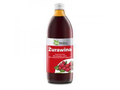 EkaMedica Żurawina sok 500 ml