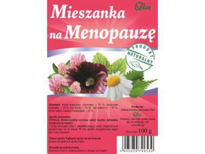 Mieszanka na Menopauzę 100g FLOS