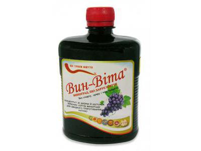 VIN-VITA płyn z winogron 490ml