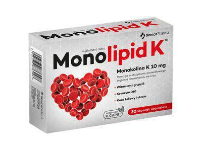 Monolipid K Cholesterol 30 kaps.