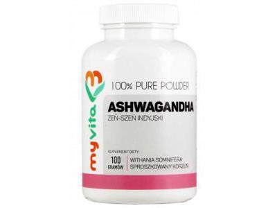Ashwagandha proszek 100g MyVita