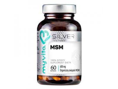 MSM Silver 60 kaps. Myvita
