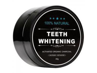 Węgiel aktywny proszek do WYBIELANIA zębów 30g