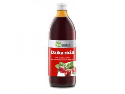 EkaMedica Dzika Róża sok 500 ml
