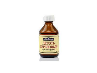 Dziegieć brzozowy ekstrakt 40ml MIRROLLA