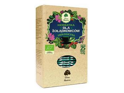 Herbata Dla żołądkowców fix BIO 25x2g DARY NATURY
