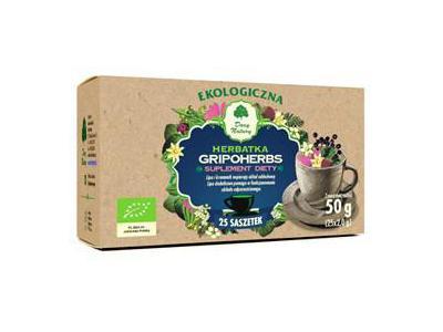 Herbata Gripoherbs fix BIO 25x2g DARY NATURY