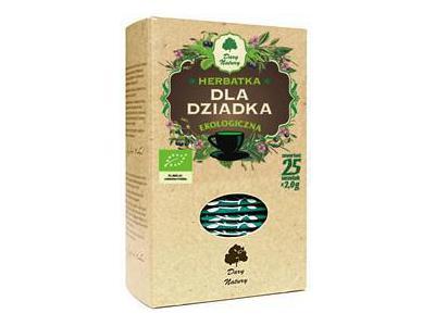 Herbata Dla Dziadka fix BIO 25x2g DARY NATURY