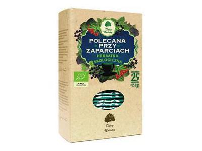 Herbatka Przy zaparciach EKO 25x2g DARY NATURY