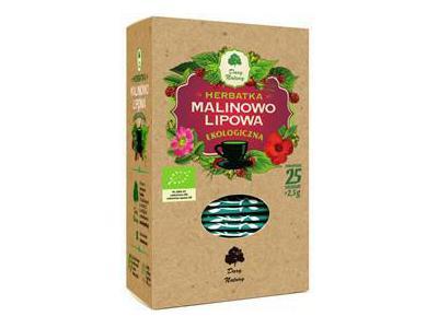 Herbatka Malinowo-Lipowa EKO 25x2,5g DARY NATURY