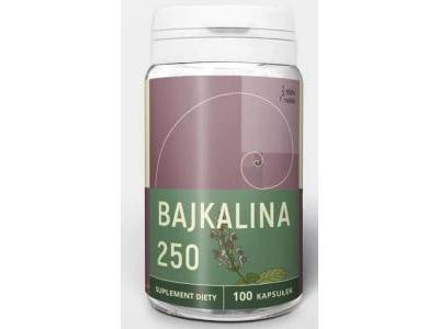 Bajkalina tarczyca bajkalska ekstrakt 500mg 100 kaps. Doctor Life
