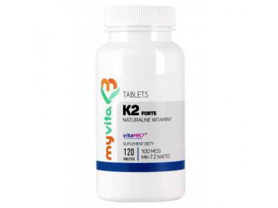 WITAMINA K2 MK-7 100mcg 120 tabletek MYVITA