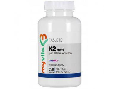 WITAMINA K2 MK-7 100mcg 250 tabletek MYVITA