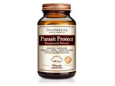 Parasit Protect 600 mg 90 kaps. Doctor Life