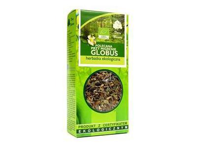 Herbatka Polecana przy migrenie Globus EKO 50g Dary Natury