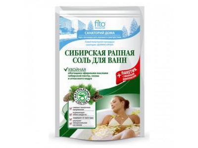 Fitokosmetik Sól do kąpieli syberyjska 500g