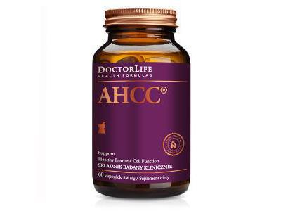 AHCC 630mg 60 kapsułek Doctor Life